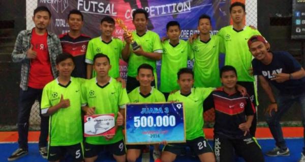 Tim Futsal MAN 1 Banyumas Sabet Juara 3 Lomba Futsal Se-Karisidenan Banyumas